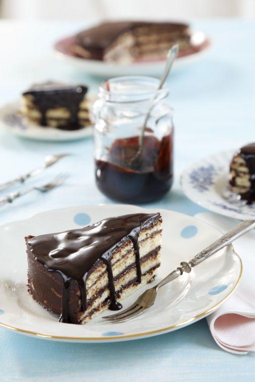 טורט שוקולד שכבות