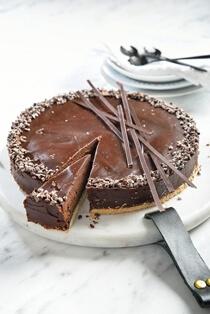 טארט שוקולד ללא גלוטן