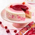 עוגת מוס פטל ווניל