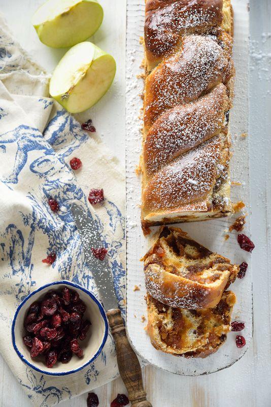 עוגת שמרים תפוחים