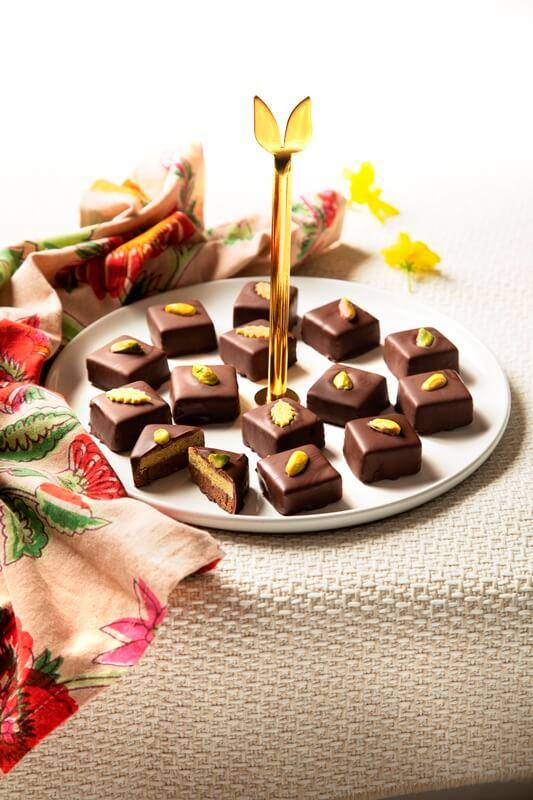 ממתק פיסטוק ושוקולד