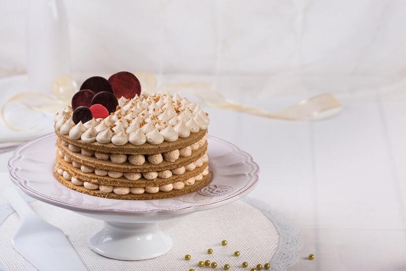 עוגת שכבות לוטוס
