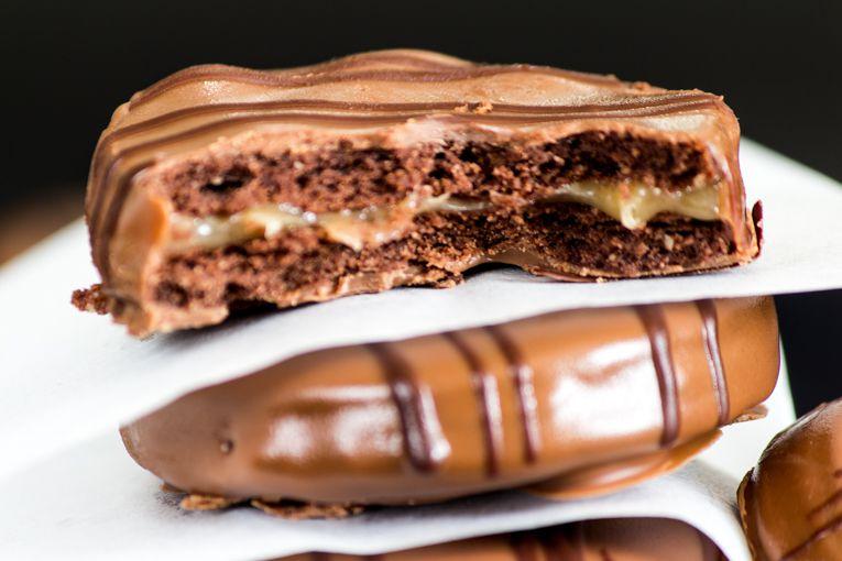 עוגיות שוקולד קרמל