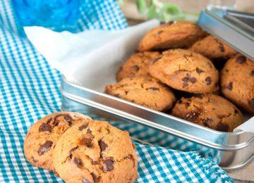 עוגיות שוקולד צ'יפס וקרמל