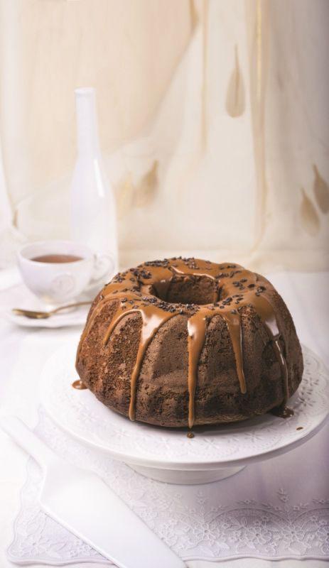 עוגת לוטוס שיש בציפוי קרם לוטוס
