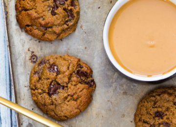 עוגיות חמאת בוטנים ושוקולד