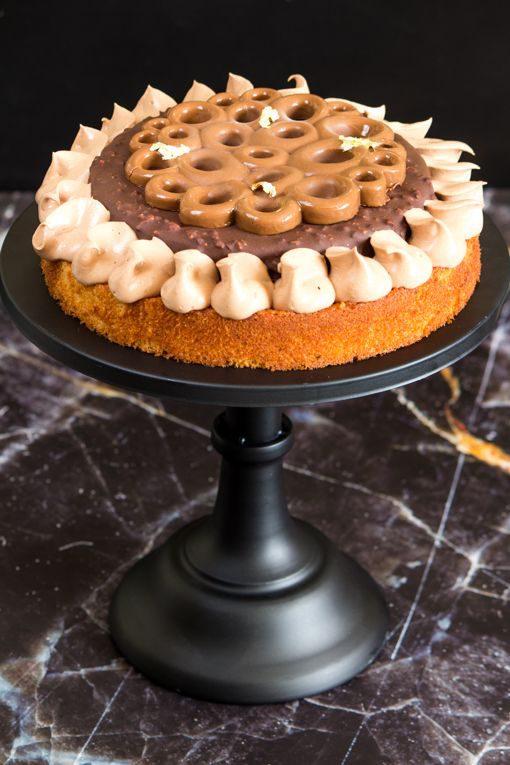 עוגת שוקולד פרלינה