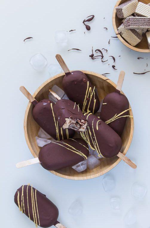 ארטיק שוקולד חלב עם הפתעה