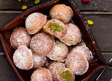 עוגיות פיסטוק פטל
