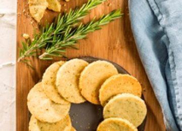 עוגיות חמאה ורוזמרין