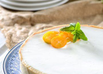 טארט גבינה תפוז