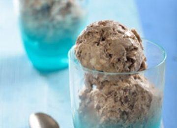 גלידת שוקולד נוגט