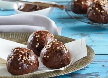 לחמניות שוקולד