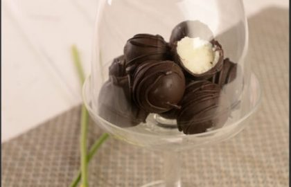 כדורי קוקוס בציפוי שוקולד