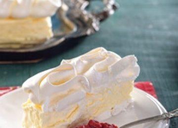 גלידת לימון ומרנג