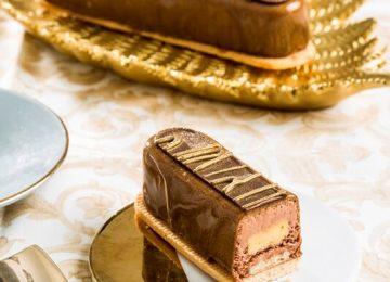קינוח שוקולד פסיפלורה