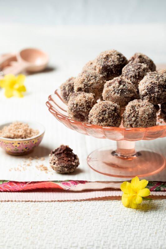 טראפלס שוקולד פקאן