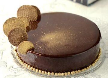עוגת מוס שוקולד לוז