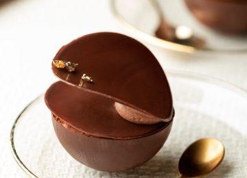 קינוח באונטי שוקולד קוקוס