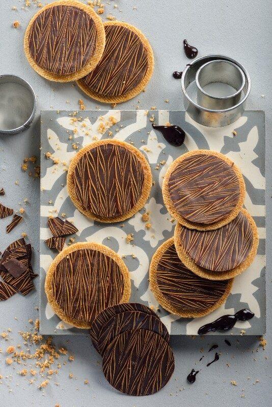 עוגיות סבלה עם קרם נוגט